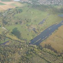 Marais de Sacy vus du ciel
