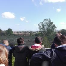 Visite d'une école dans les Marais de Sacy