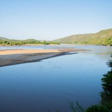 Vue sur le fleuve Onilahy