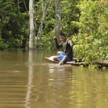 Pescador en Tipisca
