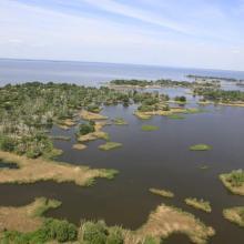 Archipelago Velyki and Mali Kuchugury