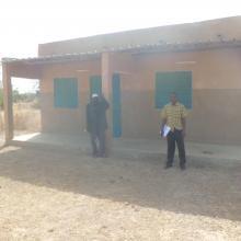 Photo 4 : Vue du poste forestier construit par le projet COGEL, pour la surveillance du Site