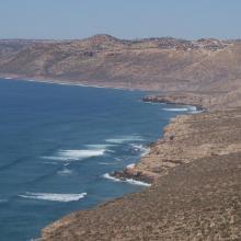 Falaises littorales au Nord d'Imsouane