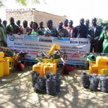 Cérémonie de récompense des meilleurs producteurs RNA 2015 des villages membres de l'AGEREF/CL en présence des autorités régionales