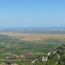 Marjal de Pego-Oliva. Vista general del desde el sur