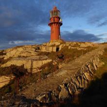 The lighthouse at Sklinna