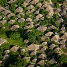 Village Bijagós, vue aérienne