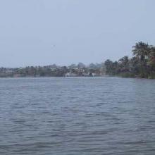 Laguna El Coyol. Lado derecho