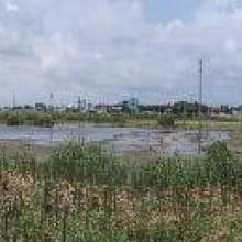Panorámica Laguna Malibrán 1999