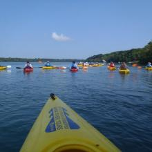 Kayaking on the Lower Niagara River