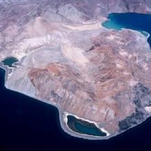 Vista aérea del Estero El Quemado