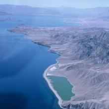 Vista aérea del Estero del Cardón