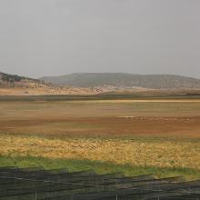 Dayet Hachlaf à sec_Vue panoramique