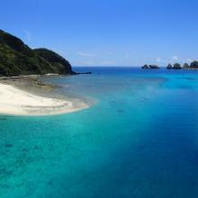 3. Overview north coast of Geruma Island