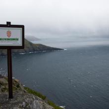 Nature Reserve sign, Runde