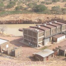 Photo 3 : Installation pour la production de l'hydro-électricité