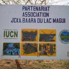Panneau Association protection Lac Magui