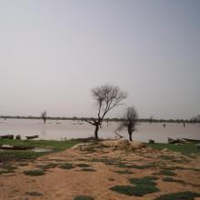 Zone de pêche au Lac Magui