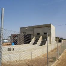 Photo 3 : Station de pompage d'eau pour le périmètre irrigué (2245 ha) aménagé dans le cadre du Millenium Challenge Account (MCA)