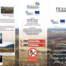 Laeflet -  preserve wetland habitats from fire in the Neretva River Delta
