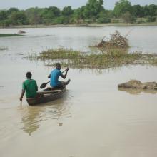 Photo13 : Activité de pêche florissante pour les communautés riveraines