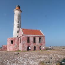 Light house on Klein Curacao