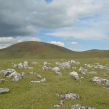 The Trojan Hill, the highest peek on the Pešter Plateau (1351m a.s.l.)