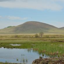 Wetlands near the Trojan Hill