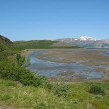 Tanamunningen, view towards Benjaminsbukta