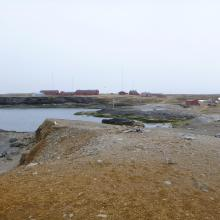 Gravodden and the metrological station (not part of the ramsar area)